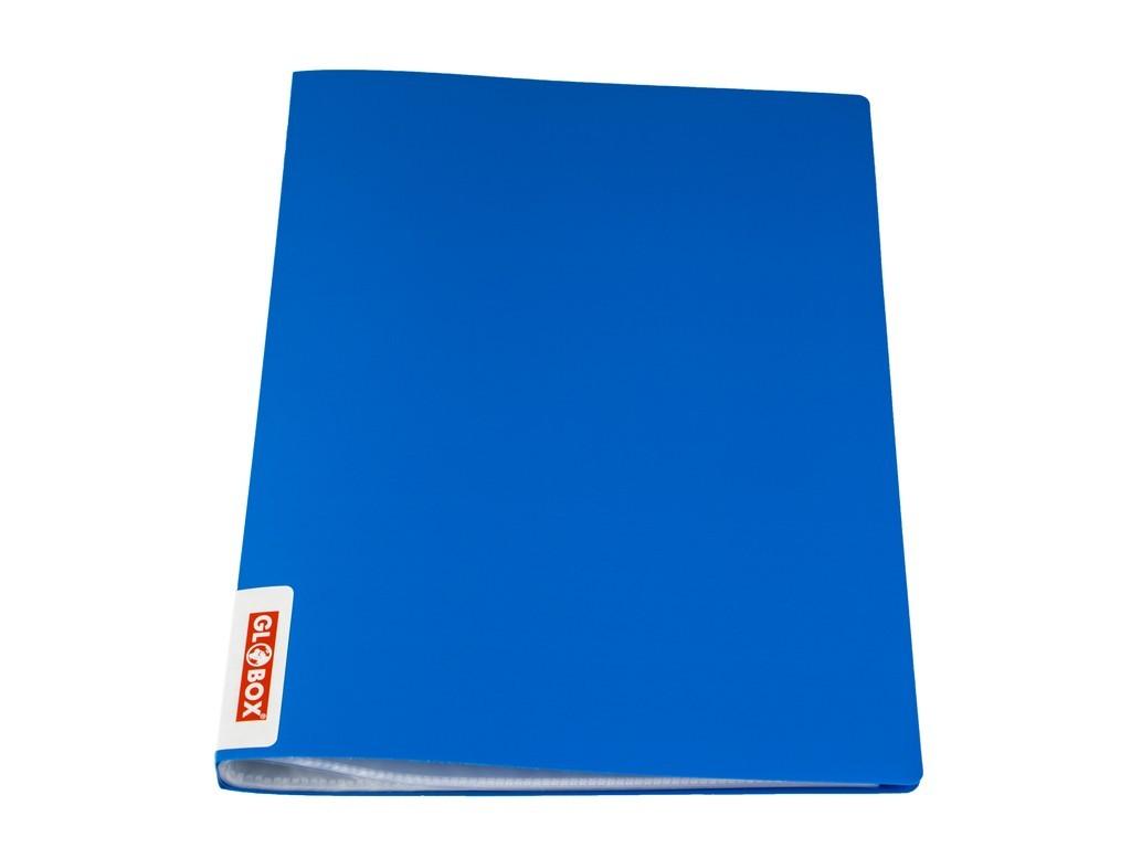 Mapa GLOBOX cu 40 folii incluse, albastru