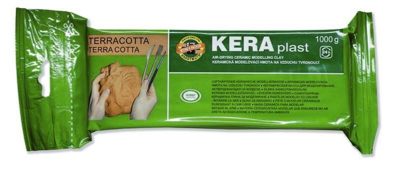 Pasta de modelaj KOH-I-NOOR teracota, 1000g