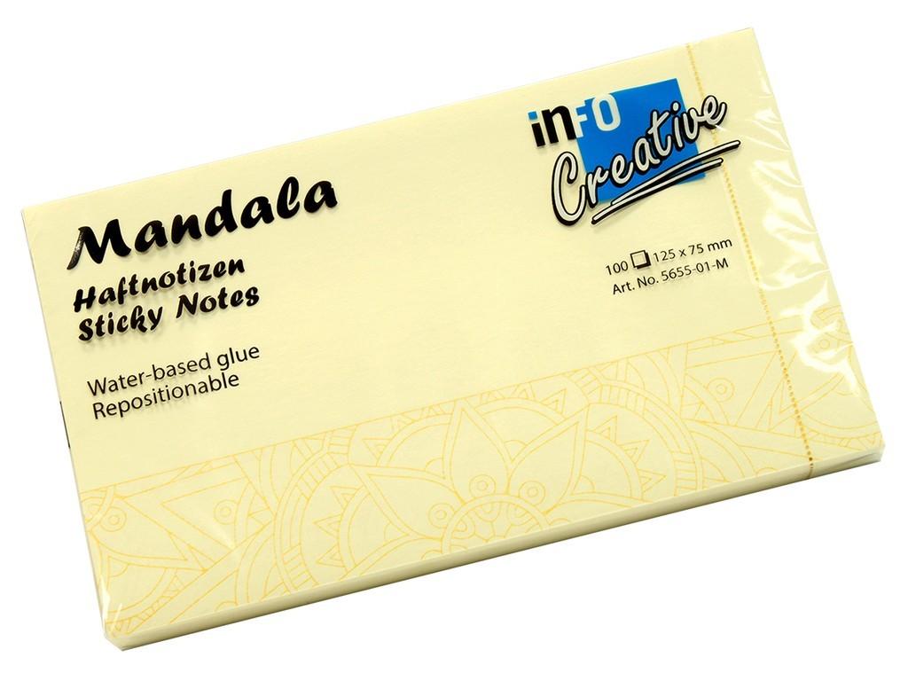 Notes adeziv Mandala 125 x 75 mm