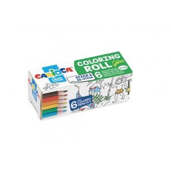 CARIOCA Coloring Roll Mini,...