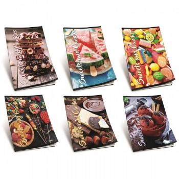 Caiet A5 SWEETS & CANDIES,...