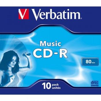CD-R VERBATIM 700 MB, 80...