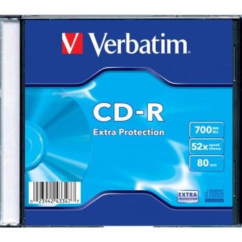 CD-R VERBATIM 700 MB, 80...