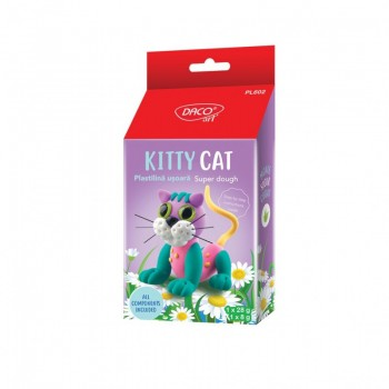 Plastilina usoara Kitty Cat...