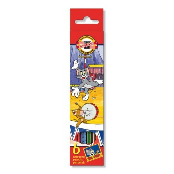 Set 6 creioane colorate TOM...