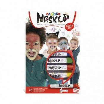 Carioca Mask-Up 6 culori